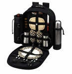 Picnic at Ascot  Picnic Backpacks for 2  w/ Wine Holder & Coffee Service