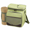 Picnic at Ascot Picnic Cooler for 2 w/ Blanket Hamptons Plaid