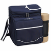 Picnic at Ascot Picnic Cooler for 2 w/ Blanket Navy Blue