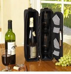 Picnic at Ascot  Sunset Deluxe  Wine Carrier for 2