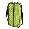 Picnic at Ascot  Sunset Deluxe Wine Carrier for 2  Trellis Green