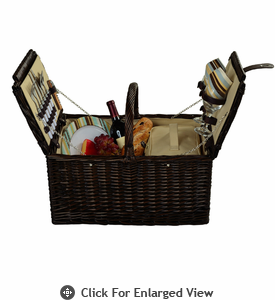 Picnic at Ascot Surrey Picnic Basket for 2