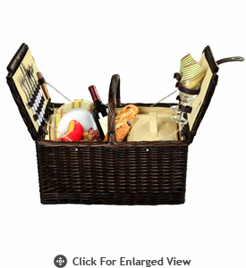 Picnic at Ascot Surrey Picnic Basket for 2 Hamptons