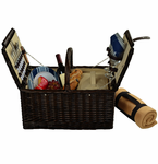 Picnic at Ascot   Surry Picnic Basket   with Blanket   for Two