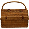 Picnic at Ascot  Sussex Picnic Basket  Blanket and Coffee  for Two