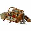 Picnic at Ascot Sussex Picnic Basket for 2 Coffee Set w/ Blanket
