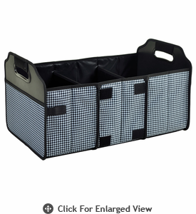 Picnic at Ascot  Trunk Organizer  Houndstooth