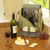 Picnic at Ascot  Two Bottle Wine and Cheese  Cooler With Glasses