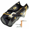 Picnic at Ascot  Wine Carrier and Purse  Black