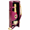 Picnic at Ascot  Wine Carrier and Purse  Purple