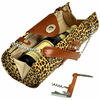 Picnic at Ascot Wine Carrier Purse Leopard
