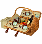 Picnic at Ascot  Yorkshire  Picnic Basket for 4