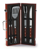 Picnic Plus 4 pc Chairman BBQ Tool Set