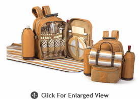Picnic Plus 4 Person Picnic Backpacks