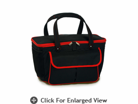 Picnic Plus Avanti Cooler Tote Black Red