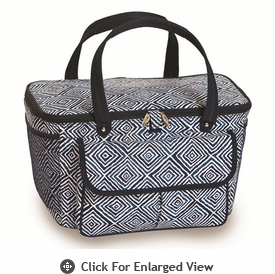 Picnic Plus Avanti Cooler Tote Blue Diamond