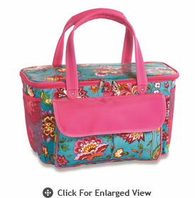 Picnic Plus Avanti Cooler Tote  Madeline Turquoise