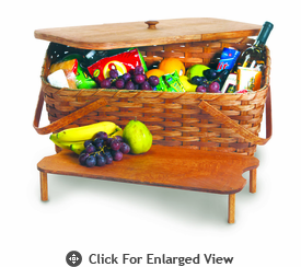 Picnic Plus Hand Woven Picnic Baskets