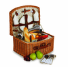 Picnic Plus Benton 2 Person Picnic Basket Vine Lining