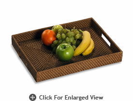 Picnic Plus Brizo Rattan Serving Tray