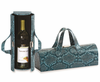 Picnic Plus Carlotta Clutch Wine Bottle Clutch  Blue Snake