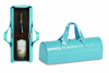 Picnic Plus Carlotta Wine Bottle Clutch Azure Croc