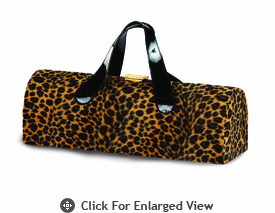 Picnic Plus Carlotta Wine Bottle Clutch Cheetah