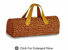 Picnic Plus Carlotta Wine Bottle Clutch Giraffe