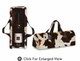 Picnic Plus Carlotta Wine Bottle Clutch Pony
