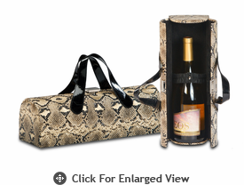 Picnic Plus Carlotta Wine Bottle Clutch Snake