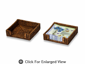 Picnic Plus Clio Rattan Napkin Holder