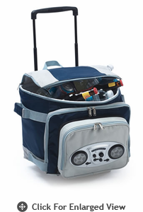 Picnic Plus Cooladio Cart Navy/Grey