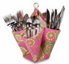 Picnic Plus Decka Utensil Caddy Pink Desire