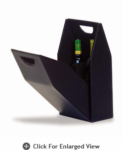 Picnic Plus Double Bottle Box  Black