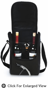 Picnic Plus Double Bottle Carrier Espresso
