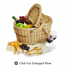 Picnic Plus Eco Creston 2 Person Picnic Basket