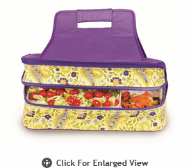 Picnic Plus Entertainer Hot and Cold Food Carrier Buttercup
