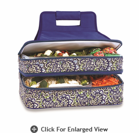 Picnic Plus Entertainer Hot & Cold Food Carrier  English Paisley