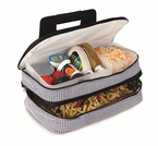 Picnic Plus  Entertainer Hot & Cold  Food Carrier  Houndstooth