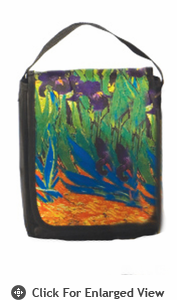 Picnic Plus Gallery Lunch Bag Irises