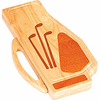Picnic Plus Golf Bag Shape Cheese Board