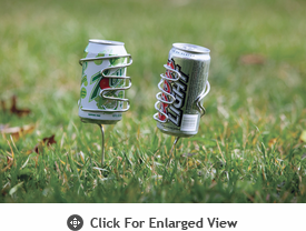Picnic Plus Handy Holder Beverage Silver - Set of 2 Out of Stock until 11/5/13