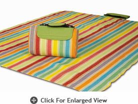 Picnic Plus Large Mega Mat Salsa Stripe