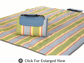 Picnic Plus Large Mega Mat Sea Breeze Stripe  Out of Stock until 3/12/14
