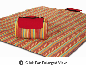 Picnic Plus Large Mega Mat Very Berry Stripe