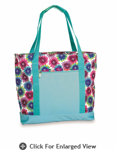 Picnic Plus Lido 2 in 1 Cooler Bag  Blue Blossom