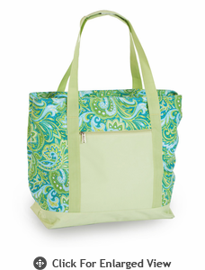 Picnic Plus Lido 2 in 1 Cooler Bag Green Paisley