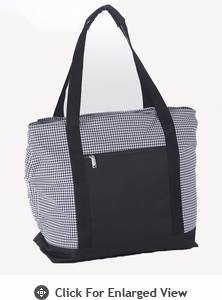 Picnic Plus Lido 2 in 1 Cooler Bag Houndstooth