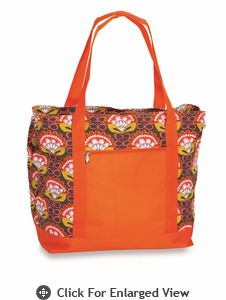 Picnic Plus Lido 2 in 1 Cooler Bag  Orange Martini