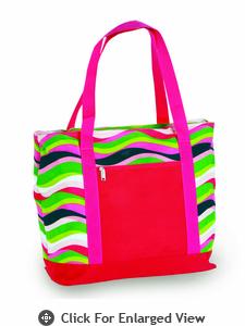 Picnic Plus Lido 2 in 1 Cooler Bag Wavy Watermelon